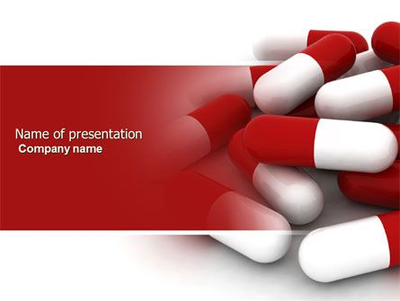 http\/\/wwwpptstar\/powerpoint\/template\/red-white-pills\/ Red - Science Powerpoint Template