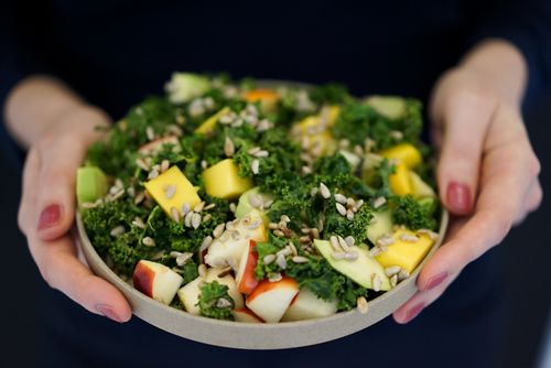 Salat avocado vegan