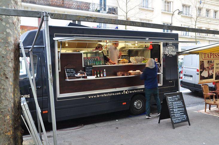 le r fectoire food truck streetfood mobiles bar und. Black Bedroom Furniture Sets. Home Design Ideas