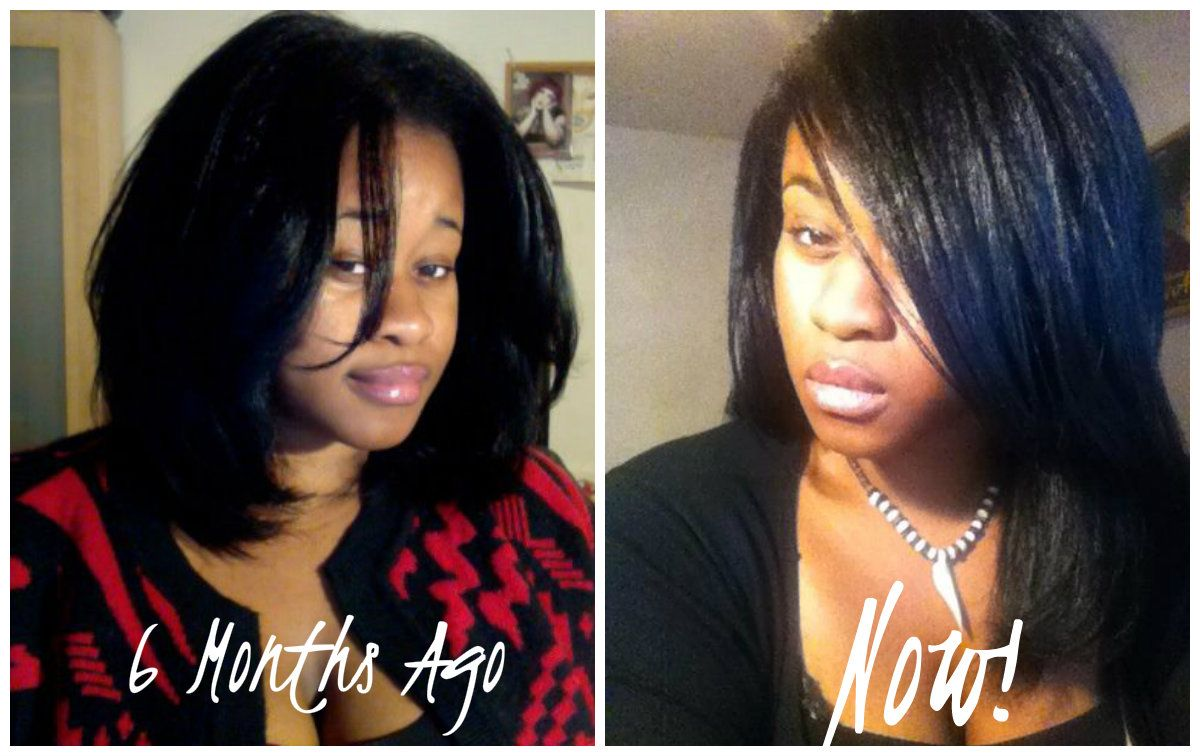 how to make your straightened hair look natural