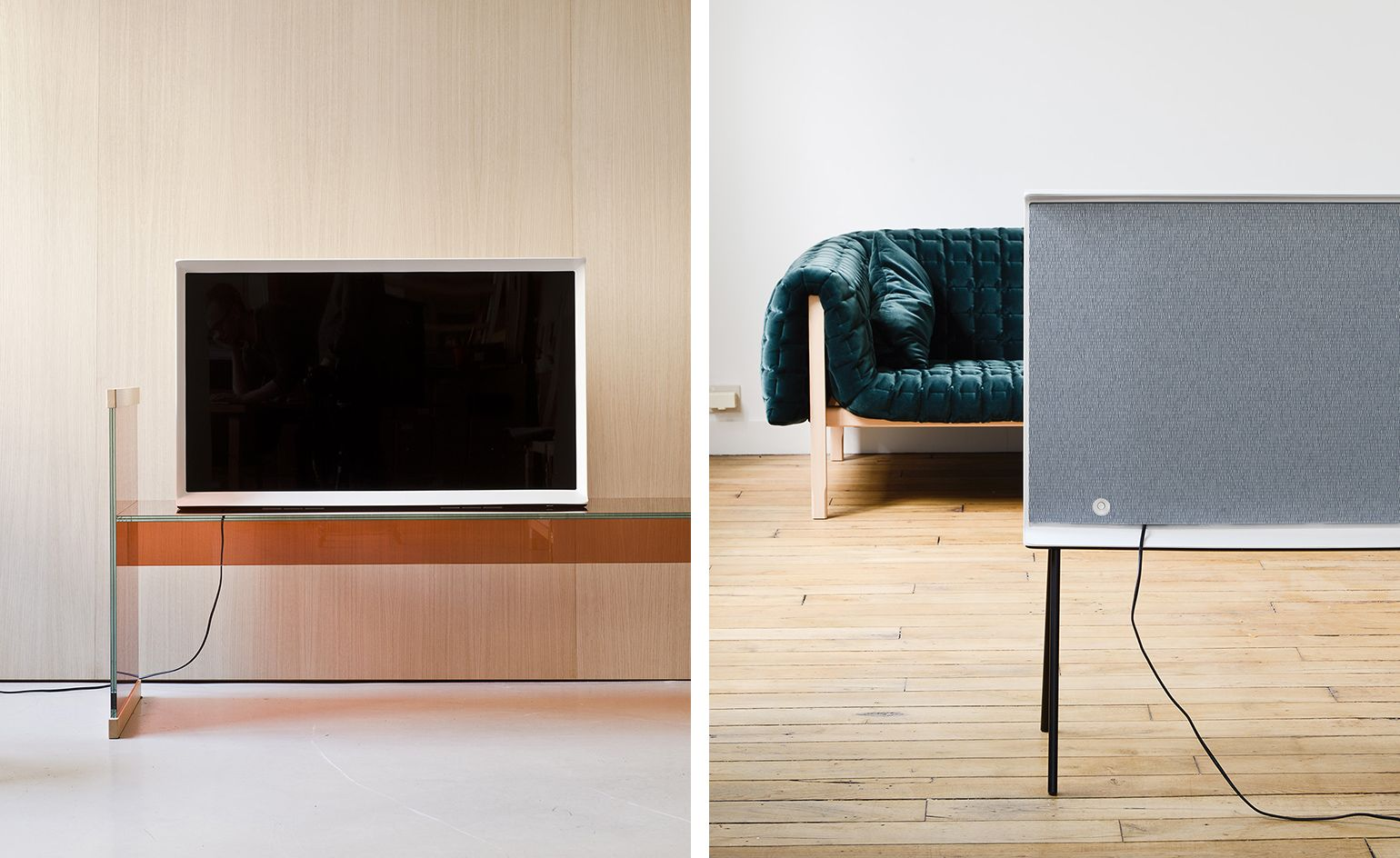 Serif: the Bouroullec brothers team up with Samsung to reinvent TV Full HD 4K