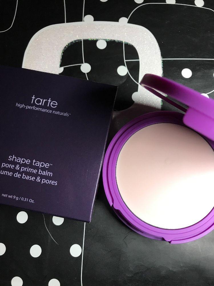 Tarte Double Duty Shape Tape Pore Primer Balm Just Released Full