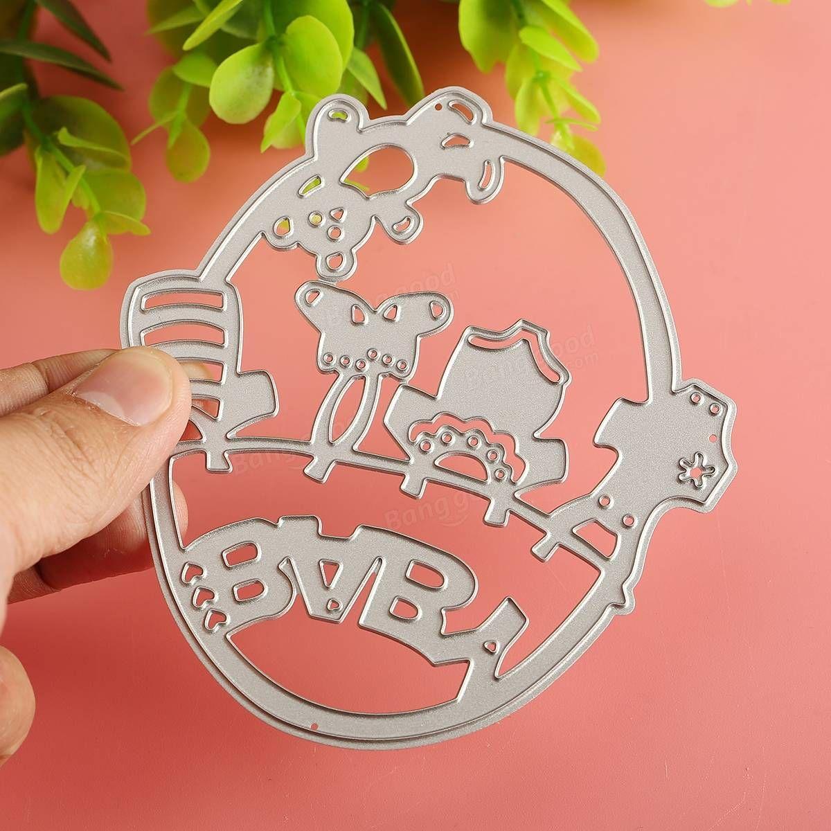 Shoe taglio orso panno metallo muore Stencil dell'album della carta dell'album carta goffratura Craft