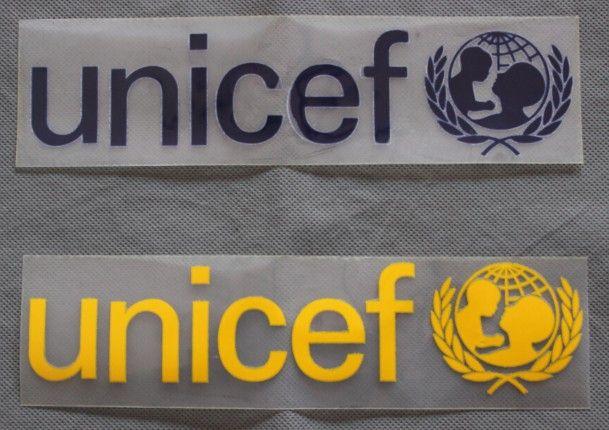 Unicef Barcelona Sponsor Back Logo For Soccer Jersey Free Shipping Worldwide Fcbarcelona Fcb Messi Barca Football Lovebarca Barcelonafc Barcelona