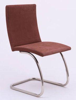 Une chaise dessinée par Lily Reich.