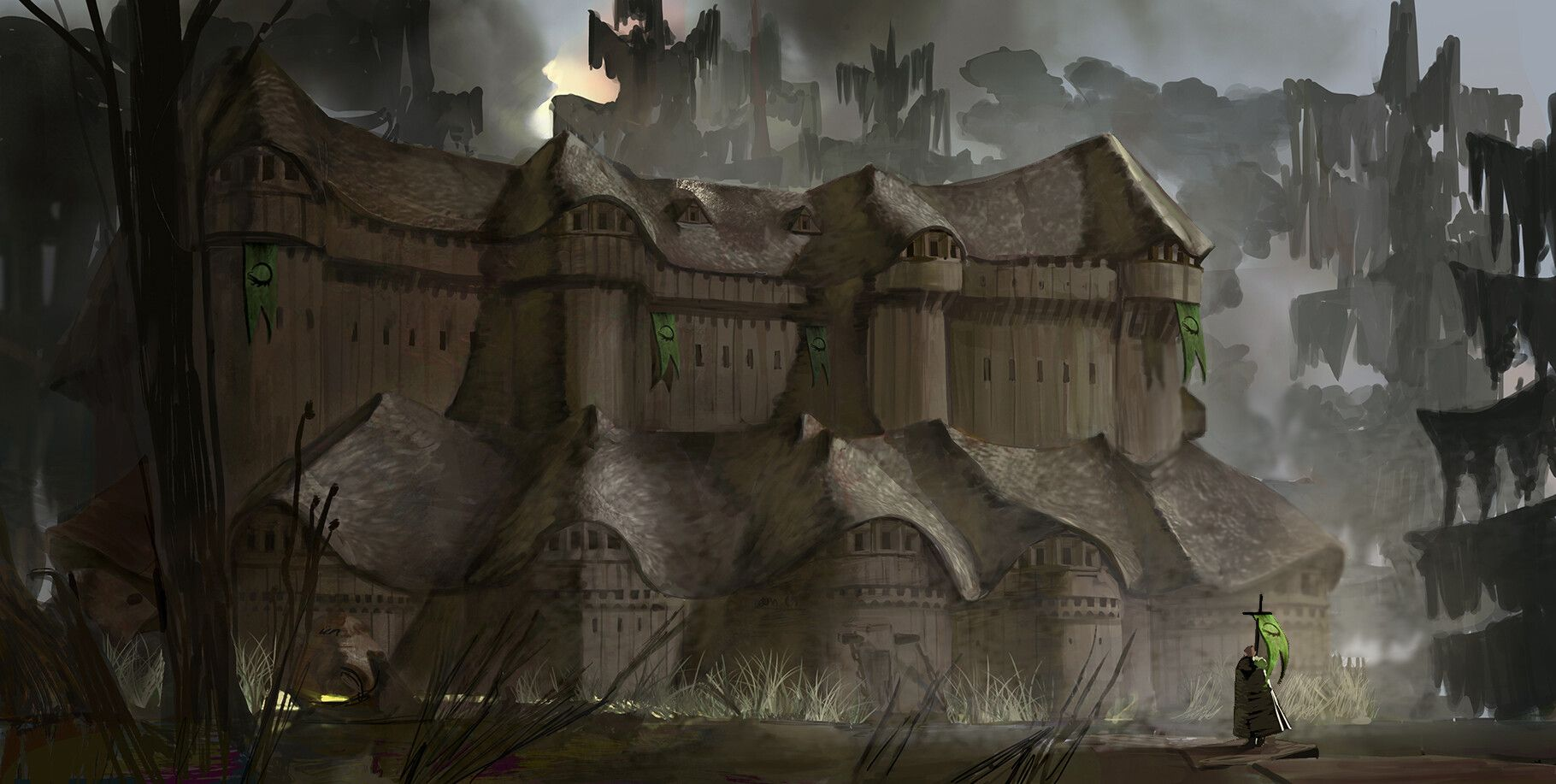 Greywater Watch By Ivan Walsh Fantasy Setting The Winds Of Winter Image Painting
