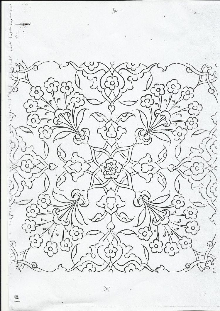 Pin de Fazilet Hekimoglu en çini | Pinterest | Dibujos bordados ...