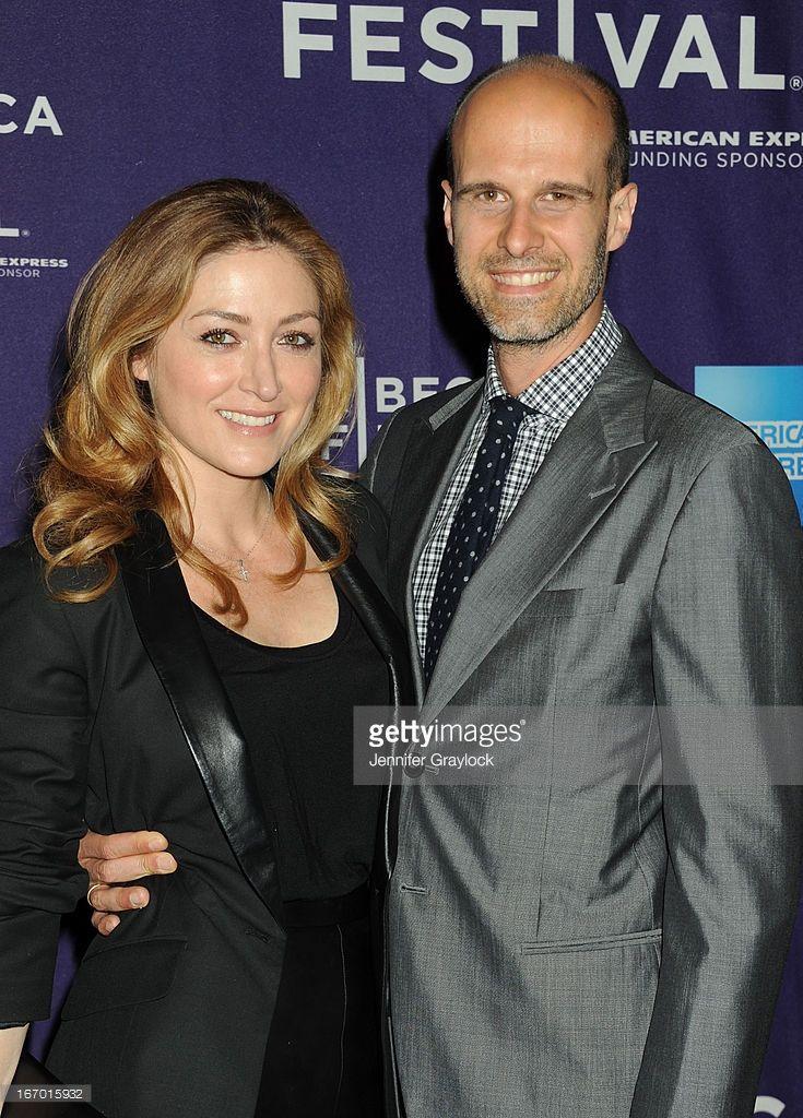 Director Edoardo Ponti and wife Sasha Alexander attends