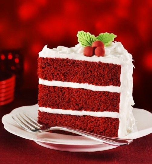 Delicious Red Velvet Christmas Cake Christmas Velvet Cake Recipe