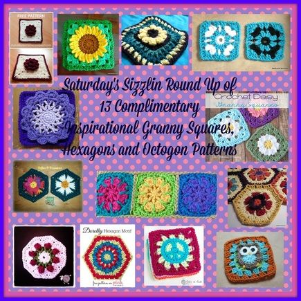 Free Patterns Crochet Motifs | pequeñas muestras crochet | Pinterest ...