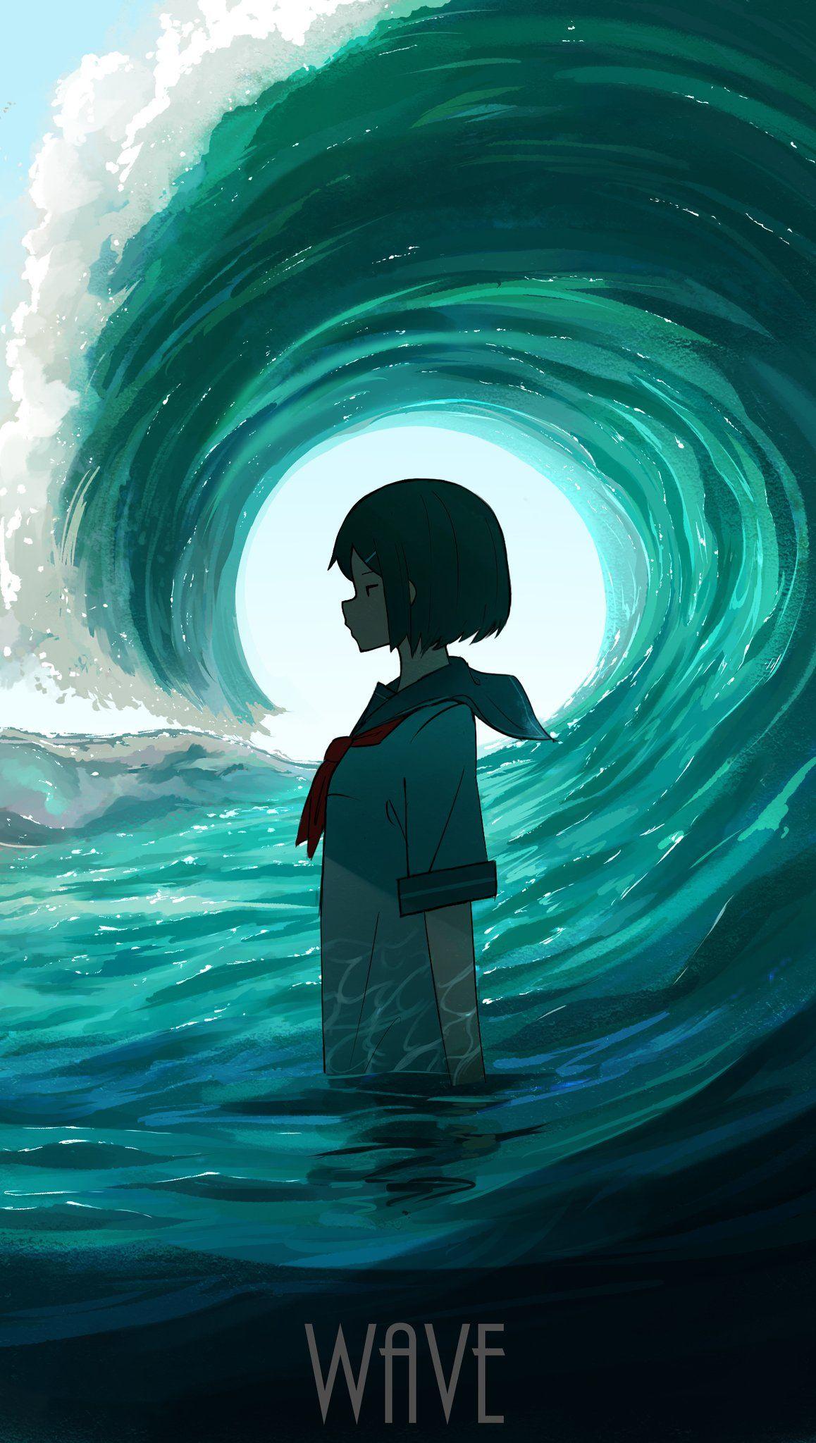 pasoputi on Twitter   Anime art beautiful, Anime wallpaper ...