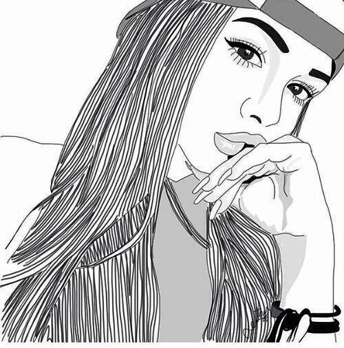 Resultado de imagen para dibujos en blanco y negro de chico fumando ...
