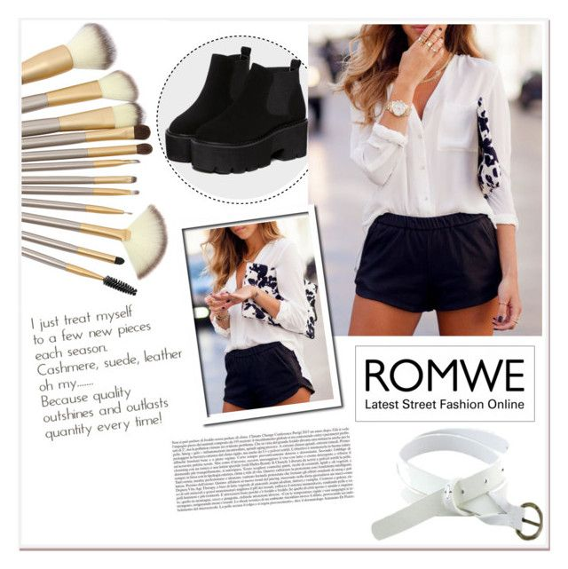 """Romwe 2/10"" by smajicelma ❤ liked on Polyvore"