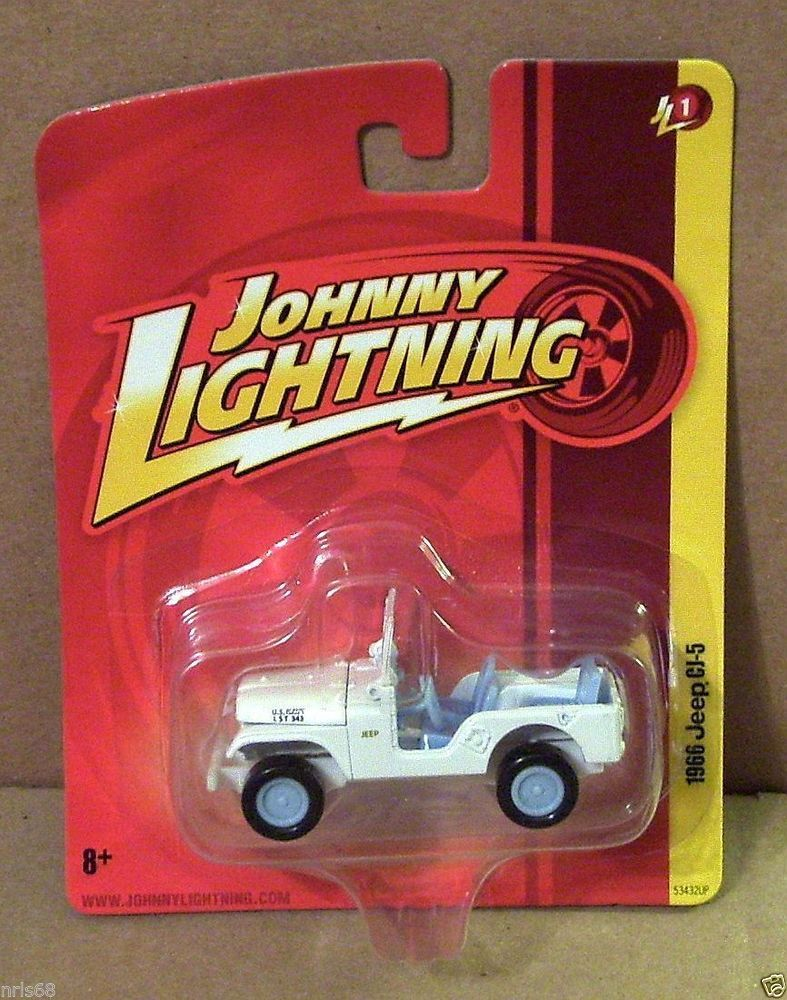 Jl Wl Johnny White Lightning Forever 64 R1 1966 Jeep Cj 5 Us Navy Diecast Trucks Jeep Jeep Cj