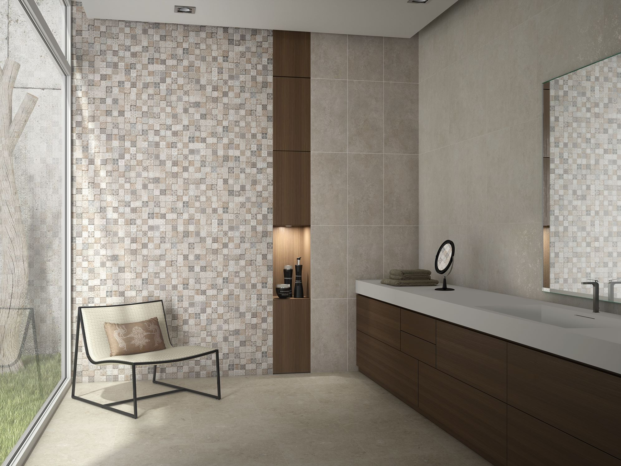 Saloni gard pinterest pisos nuevos color beige y ba os - Azulejos saloni ...