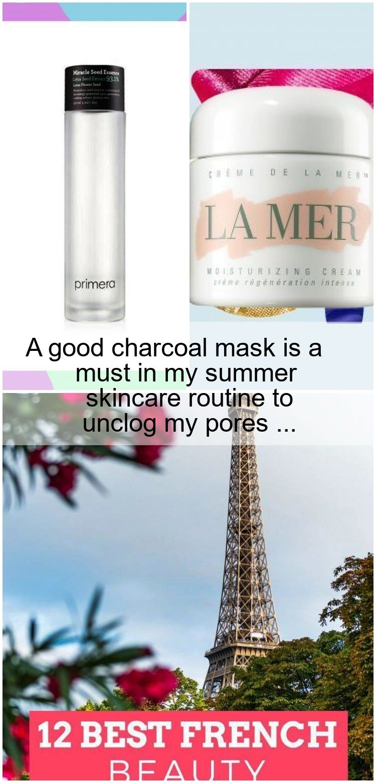 A good charcoal mask is a must in my summer skincare routine to unclog my pores  A good charcoal mask is a must in my summer skincare routine to unclog my pores