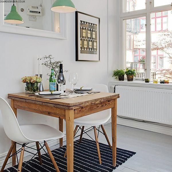 how to style a small dining space pinterest captions small