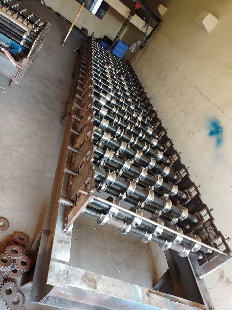 Roof Sheet Machine In 2020 Roofing Sheets Making Machine Roofing