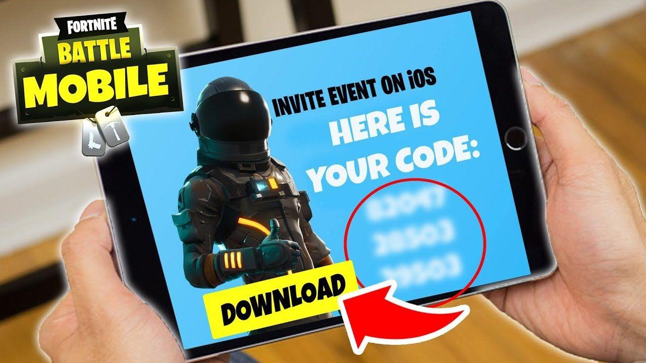 40 Fortnite Mobile Codes Fortnite Fortnitemobile
