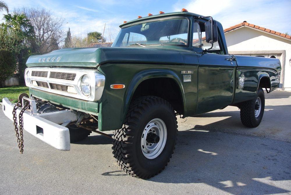 1970 dodge power wagon w200 pickups pickup trucks. Black Bedroom Furniture Sets. Home Design Ideas