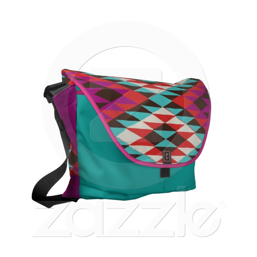 Pink Desert Messenger Courier Bags from Zazzle.com