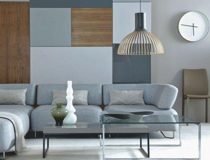 couleur-peinture-taupe-deco-salon-gris-tres-simple-aux-lignes - peinture sol sur ragreage