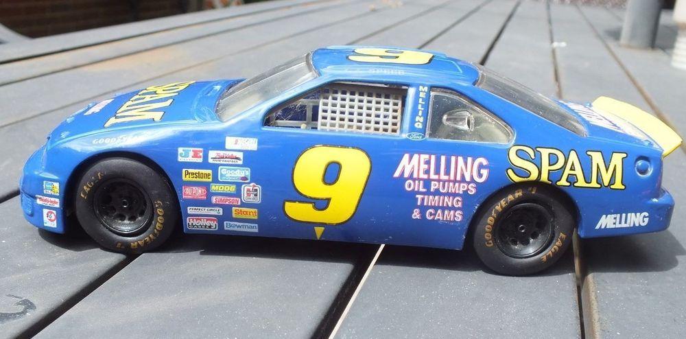 Lake Speed #9 Spam 1995 NASCAR Ford Thunderbird 1//24 Diecast Race Car