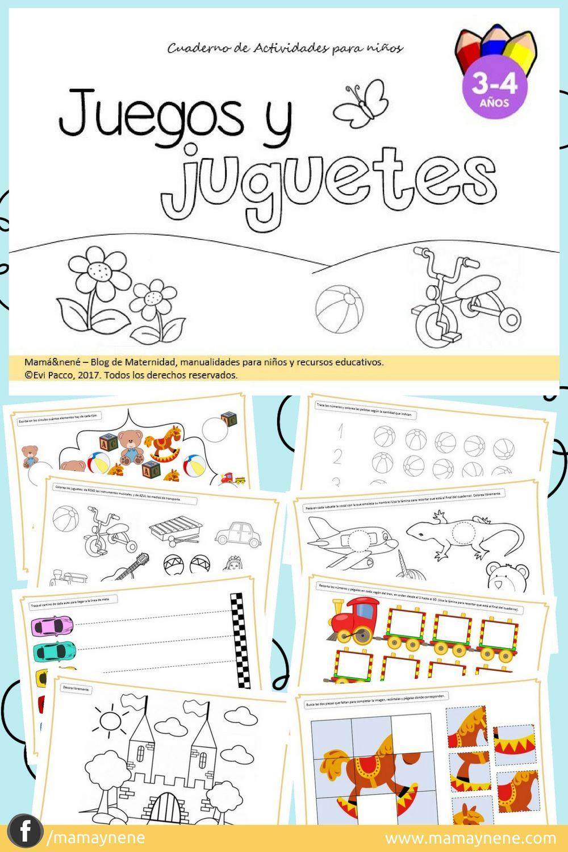 De Para Cuaderno Actividades Niños WEH9e2IYD