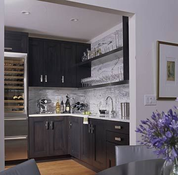 Wet Bar Ideas | Beverage center, Sink shelf and Bar sinks