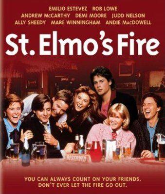 St Elmos Fire Brat Pack FRIDGE MAGNET 6x8 Magnetic Movies Poster Canvas Print