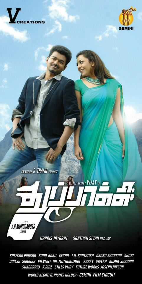 Thuppakki (2012) Tamil Movies Free Download|Tamil Dubbed