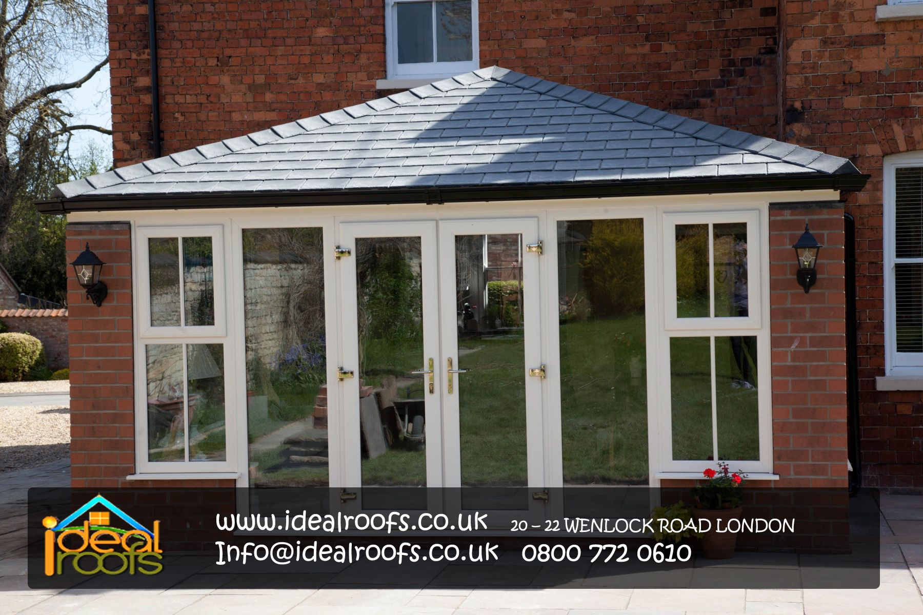 You may also contact the tiled conservatory roof company and