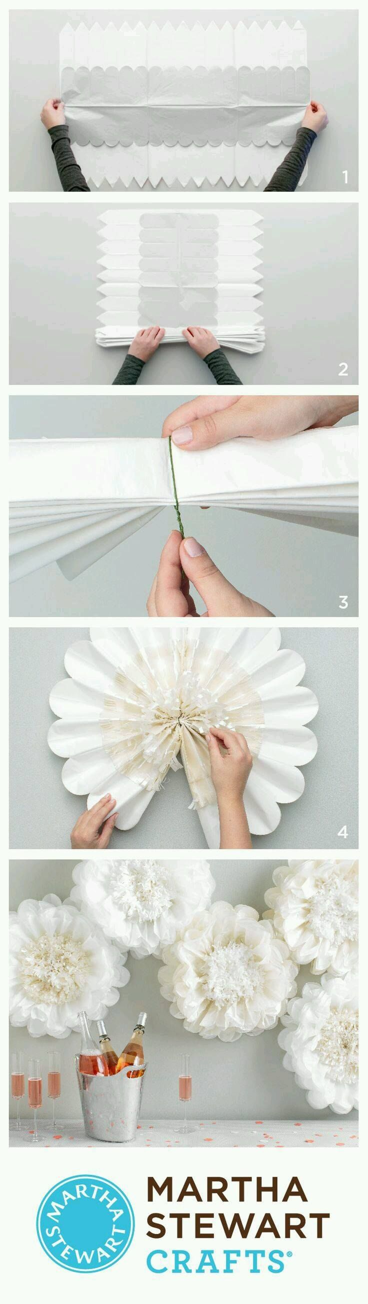 Tissue paper or crepe paper  Decorations  Pinterest  Crepe paper