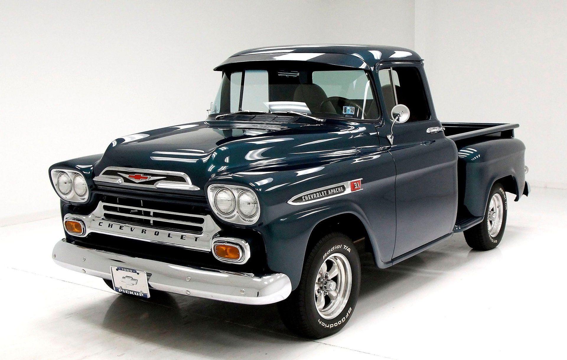 1959 Chevrolet Apache Pickup Classic Auto Mall Chevrolet Apache Chevrolet Medium Duty Trucks