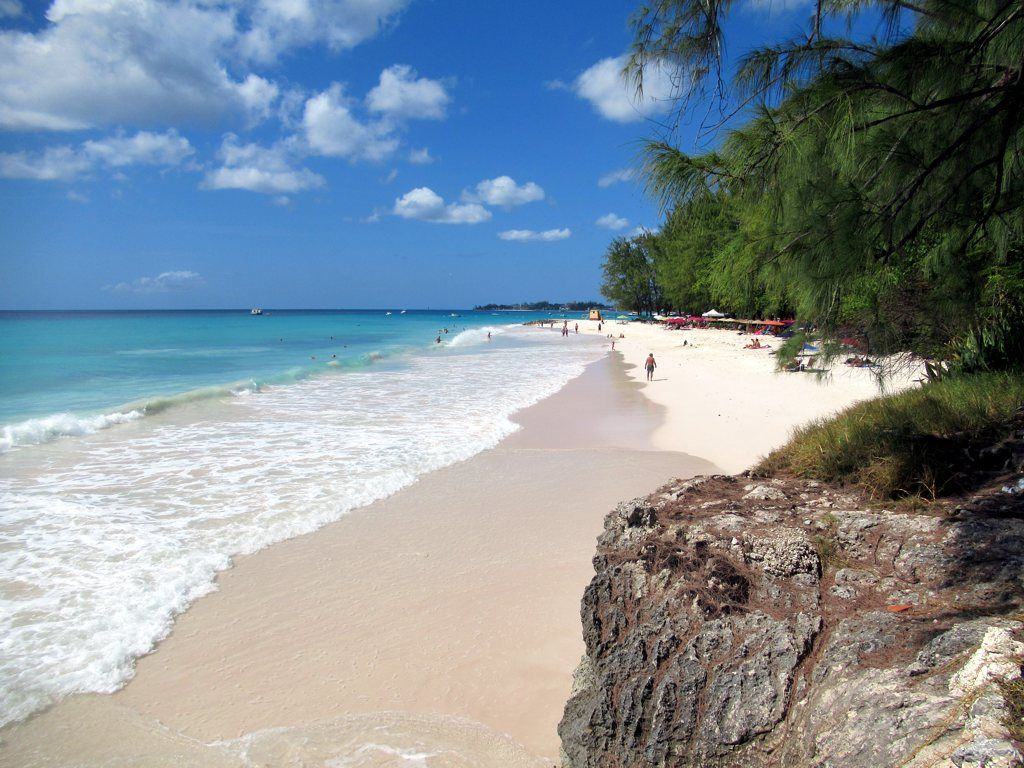 Miami Beach Near Oistins Is One Of The Finest On Barbados Eastern Caribbean Cool Places To Visit Barbados Beaches Barbados
