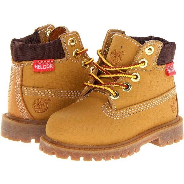 Timberland Kids 6 Premium Waterproof Scuff Proof Ii Boot Toddler Little Kid  Wheat