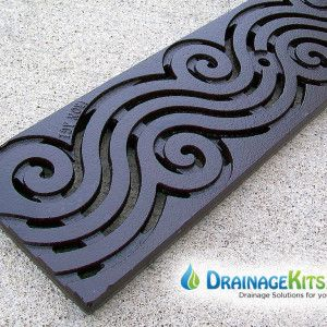 5 Cast Iron Grate Argo Pattern W Boof Drainage Solutions
