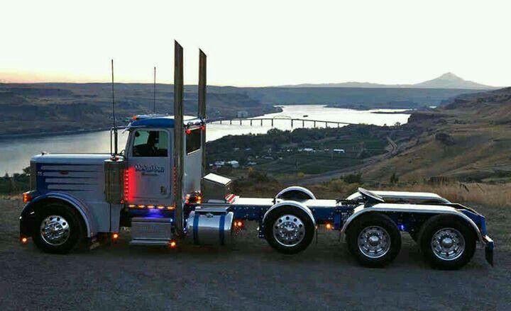 Cool Day Cab Jacked Up Trucks Custom Trucks Peterbilt
