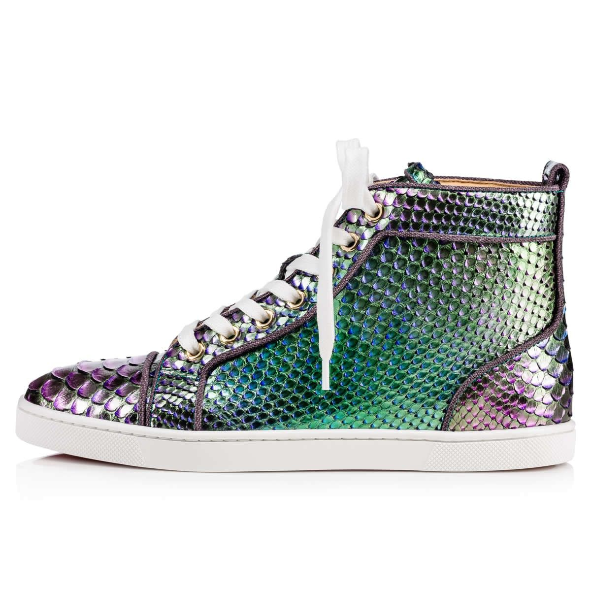 Women Shoes - Bip Bip Woman Orlato Python Scarabee - Christian Louboutin