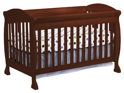 Davinci Jacob 4-in-1 Convertible Crib with Toddler Rail, Cherry for only $212.49