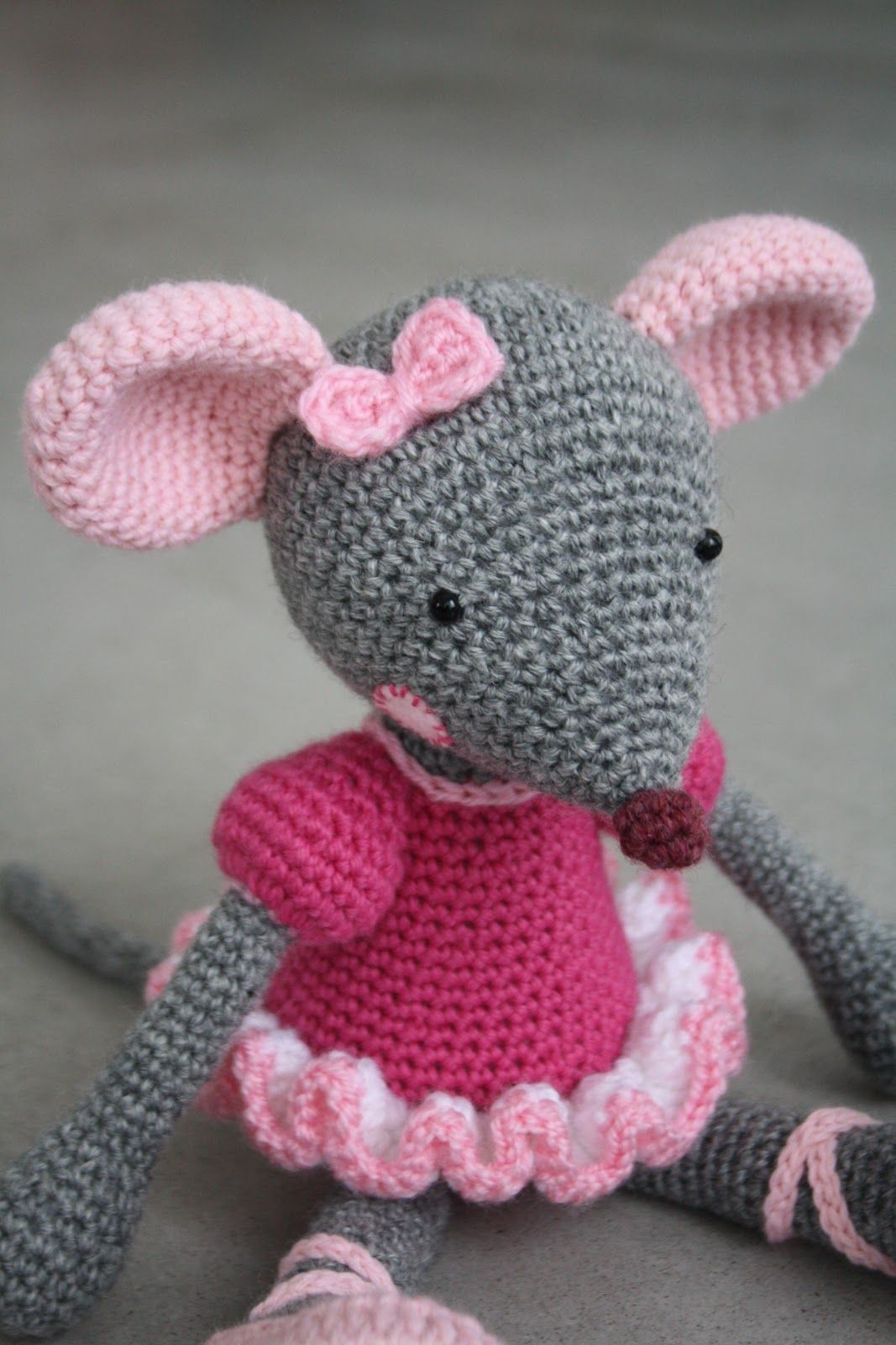 flower Rail - world full of cuteness and amigurumi: Mice   Yarn ...