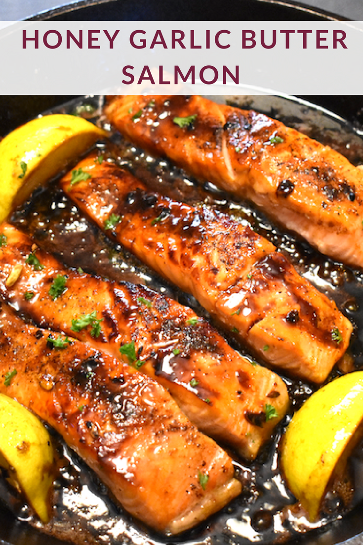 Honey, Garlic, Butter Salmon - Super Safeway