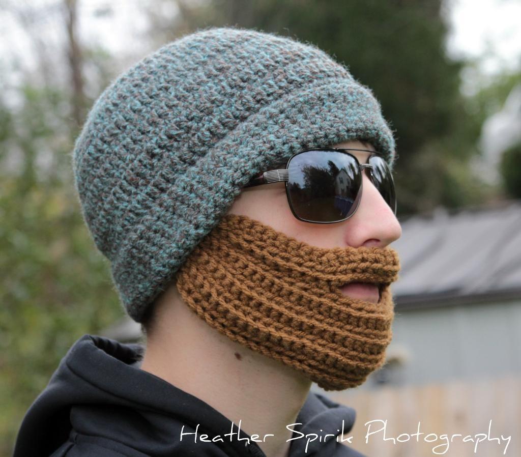 Pattern for Adult Beard Hat | Pinterest | Handarbeiten