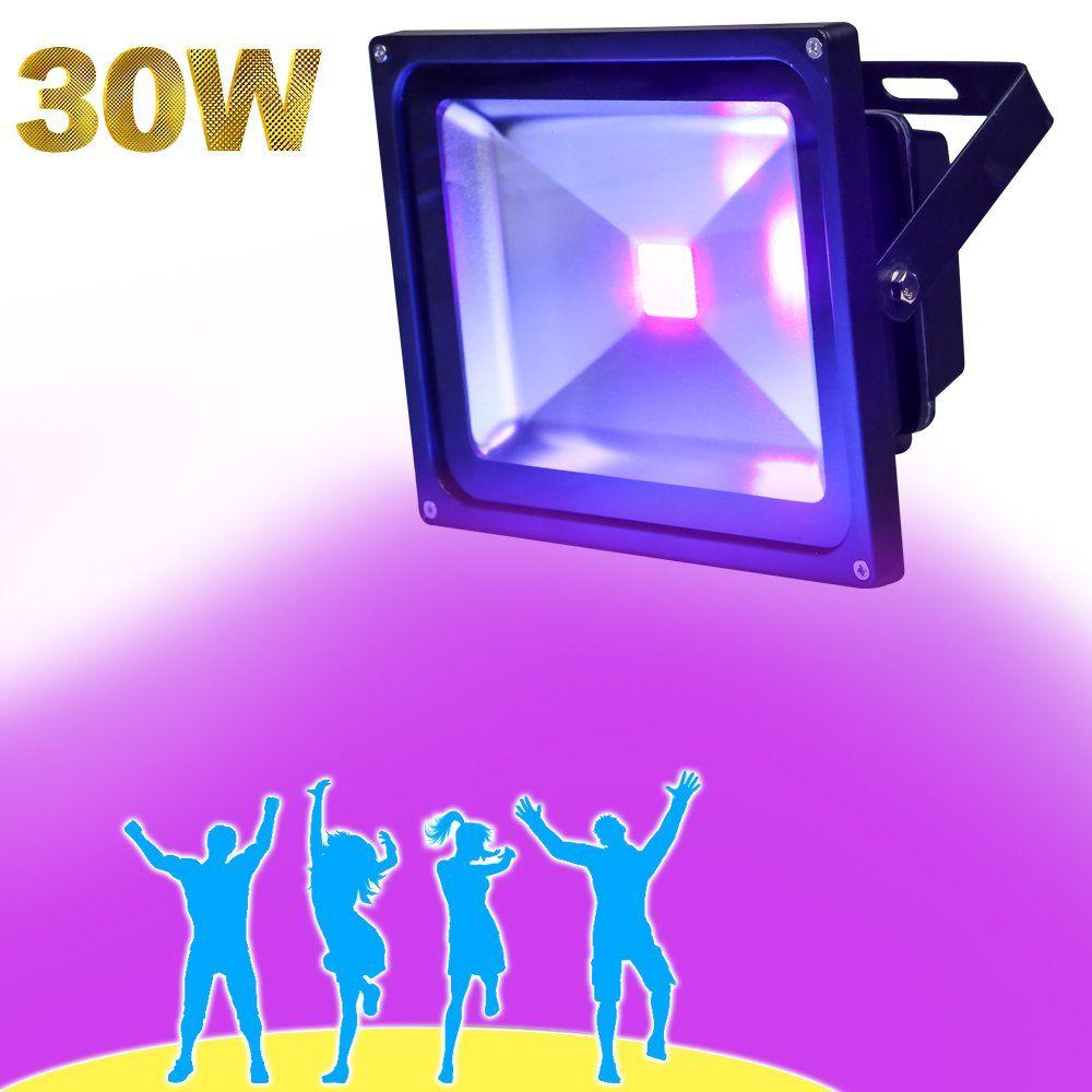 YQL Outdoor BlacklightHigh Power 30W UV LED Flood Light for DJ Disco Club & YQL Outdoor BlacklightHigh Power 30W UV LED Flood Light for DJ ...