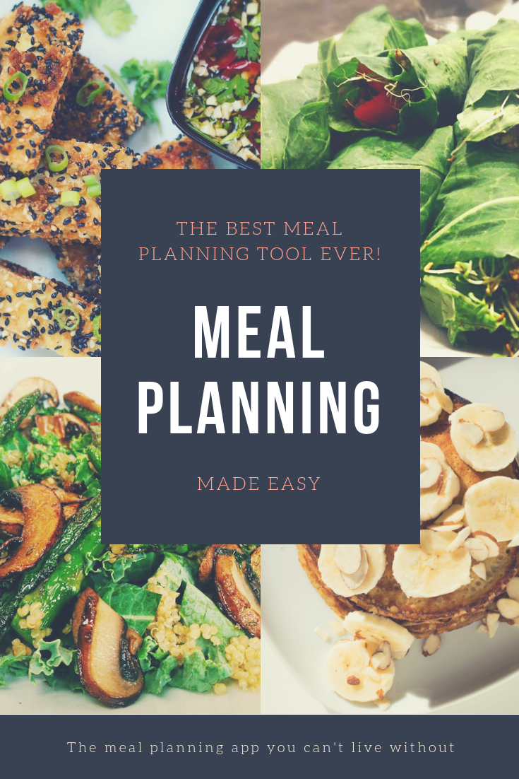 Meal Planning Calendar and Grocery List Maker Meal
