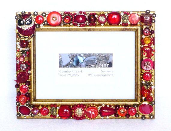 Sold wand deko kunst geschenk schmuck bilderrahmen bilderrahmen und spiegel embellished - Selbstgemachte bilderrahmen ...