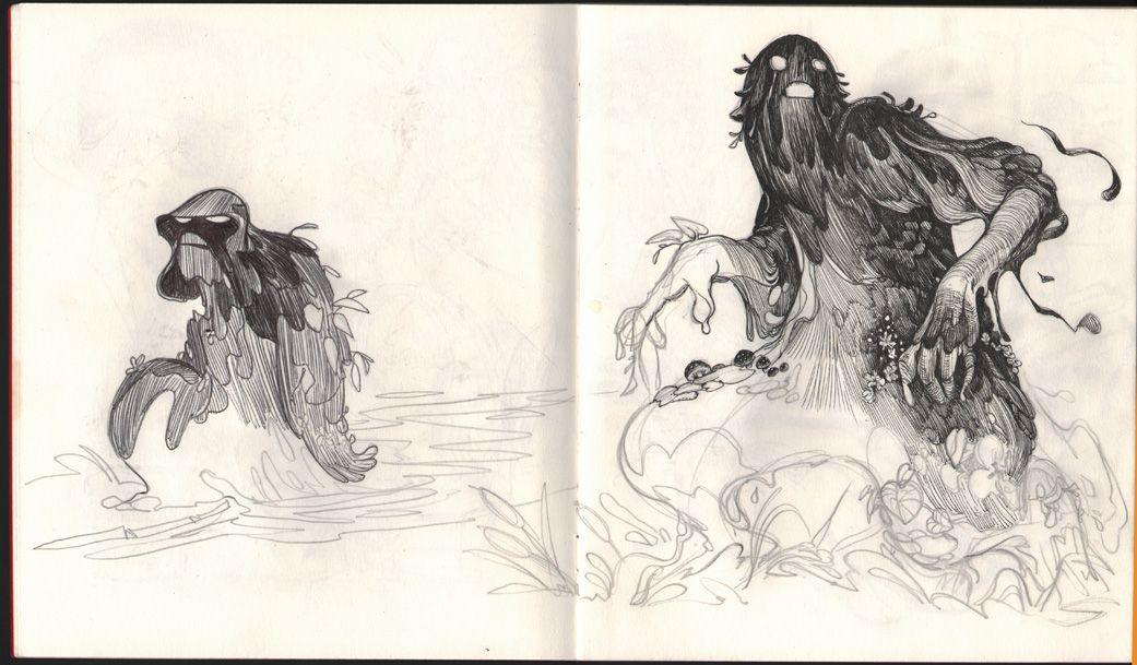 Veronica Fish | Illustration + Comic Art   http://www.hebsandfish.com/sketches.htm