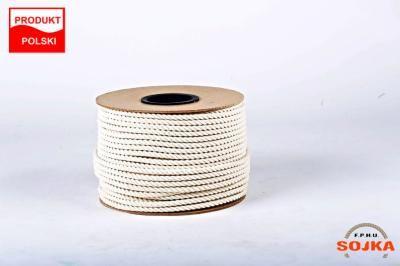 Lina linka bawełniana bawełna fi 10 mm 1 mb 1,70zł