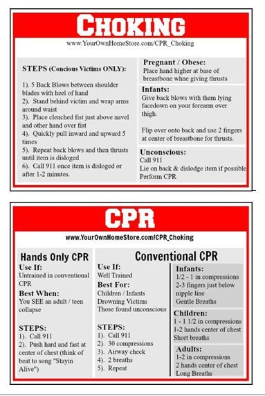 Cpr And Choking First Aid Basics Simple Family Preparedness Choking First Aid First Aid Tips First Aid Cpr