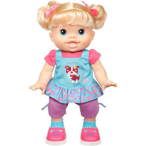 Baby Alive Baby Wanna Walk Doll Blonde Walmart Com My Child Doll Baby Alive Dolls Baby Dolls